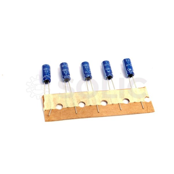 Electrolytic Capacitor 1uF PCB mount